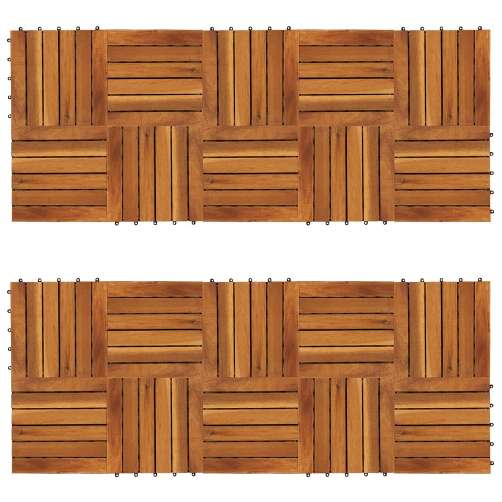 Balkongplattor med vertikal design 30 x 30 20 st