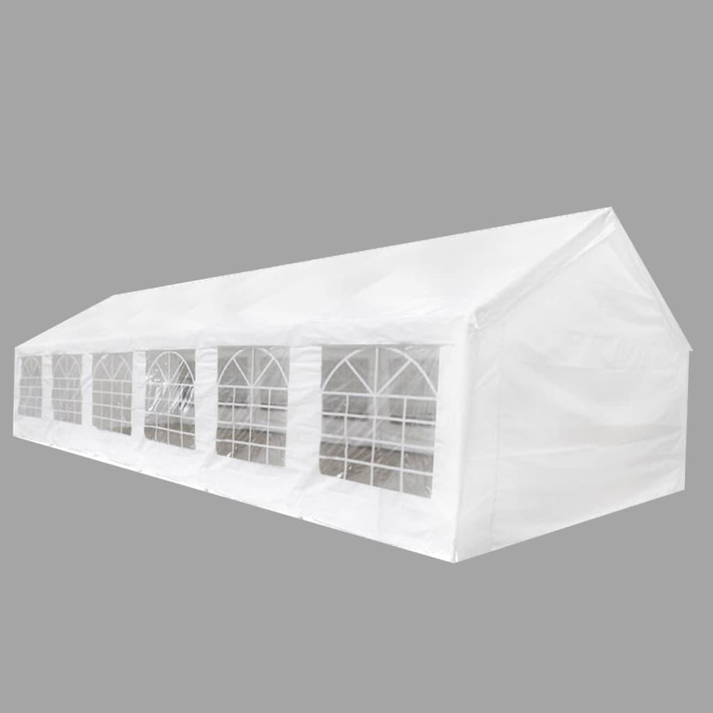 vidaXL rendezvénysátor 12 x 6 m fehér