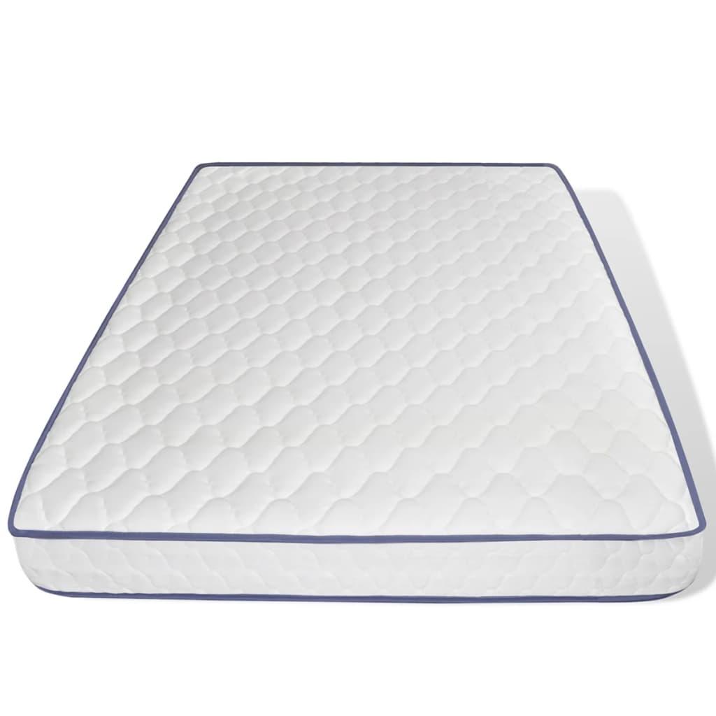 acheter lit en pin 200 x 140 cm avec matelas en mousse m moire de forme pas cher. Black Bedroom Furniture Sets. Home Design Ideas