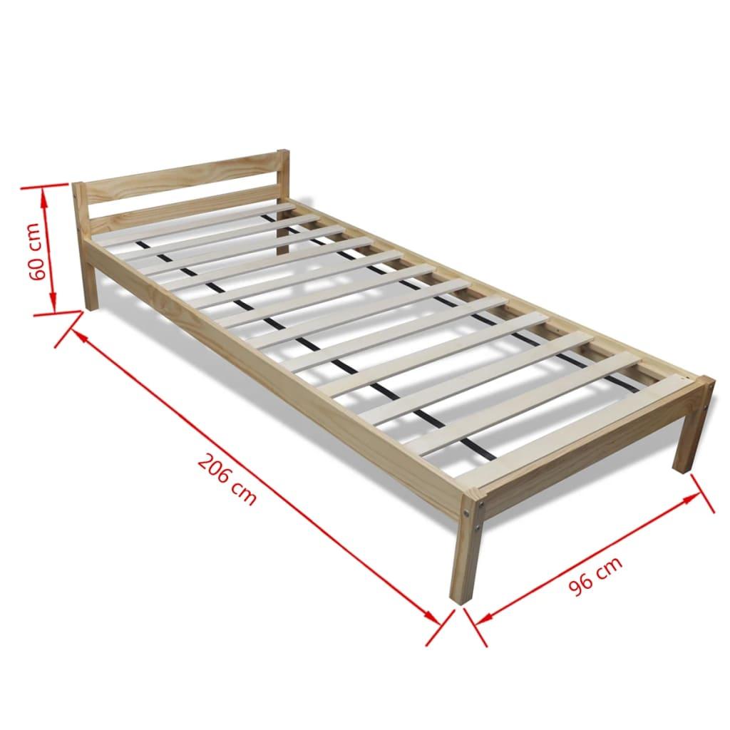 lit en pin 90 cm surmatelas m moire de forme matelas. Black Bedroom Furniture Sets. Home Design Ideas