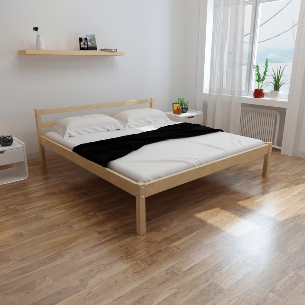 acheter lit en pin 180 cm surmatelas m moire de forme matelas pas cher. Black Bedroom Furniture Sets. Home Design Ideas