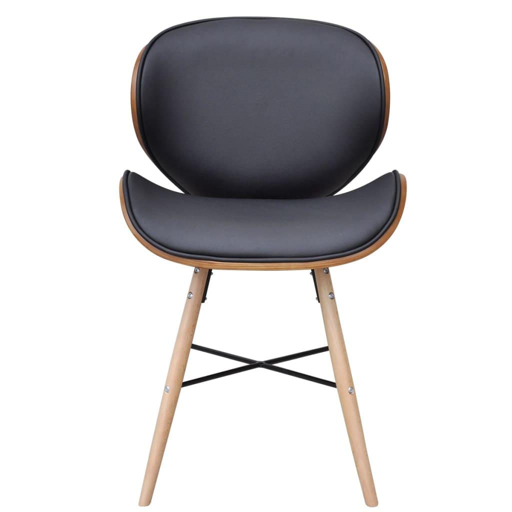 6 x esszimmerst hle ohne armlehnen mit bugholz rahmen. Black Bedroom Furniture Sets. Home Design Ideas