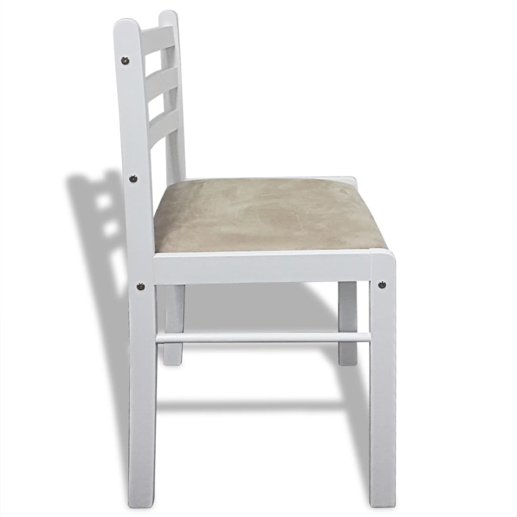 Acheter lot de 6 chaises de salle manger en bois carr e - Lot de 6 chaises salle a manger ...