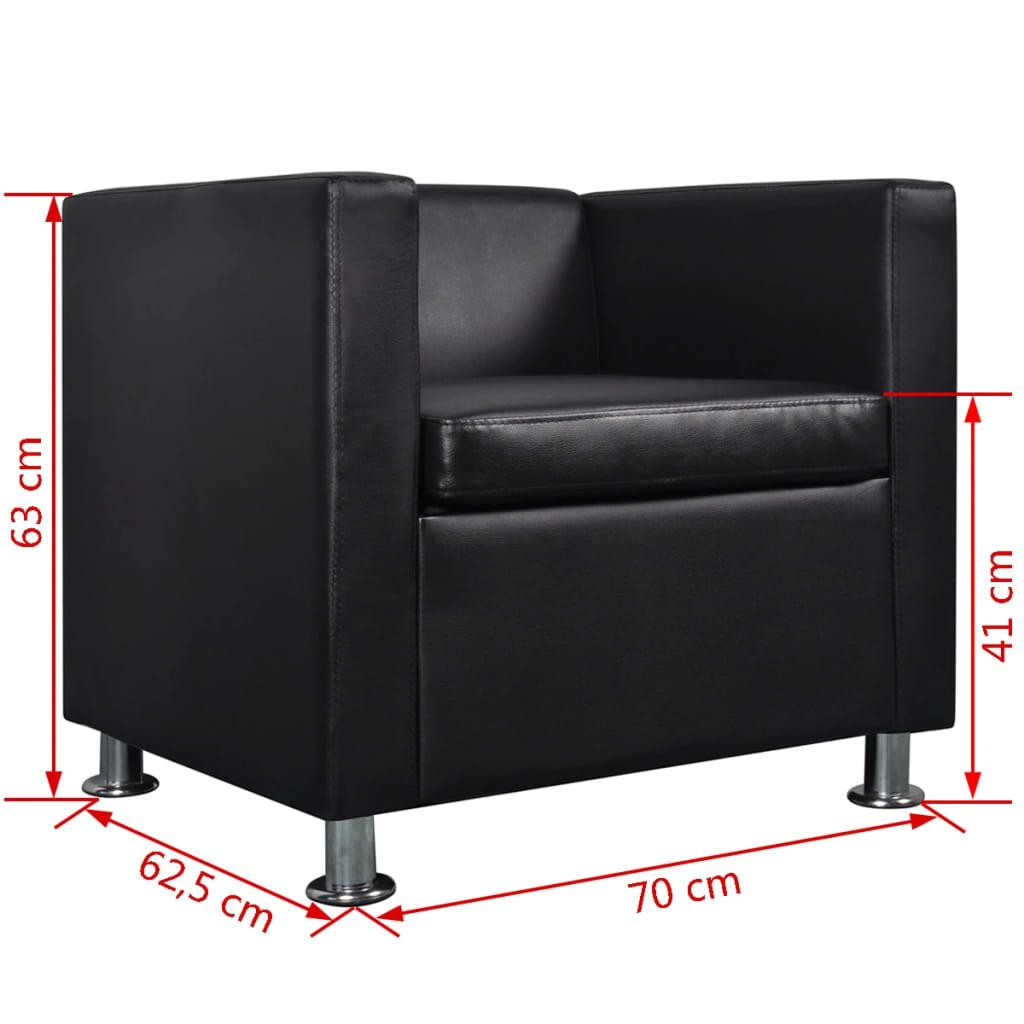 schwarzes sofaset 3 sitzer und 2 sitzer und sessel g nstig kaufen. Black Bedroom Furniture Sets. Home Design Ideas