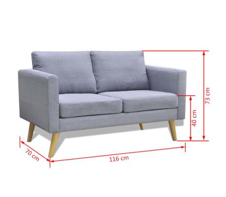 Design sitzmöbel  Sofa Polstersofa 2/3/5 Sitzer Stoffsofa Loungesofa Couch Holz ...
