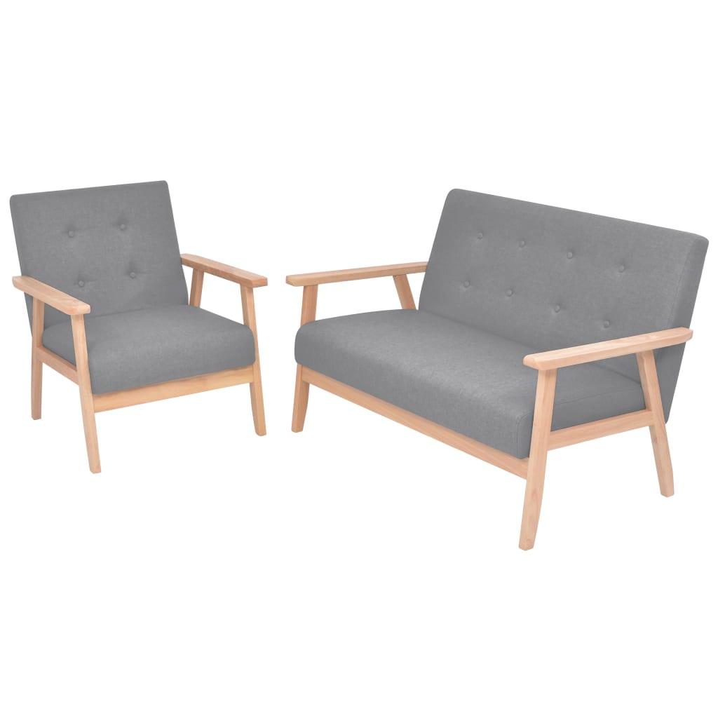 Zestaw Wypoczynkowy Drewniana Sofa I Fotel Retro Sklep