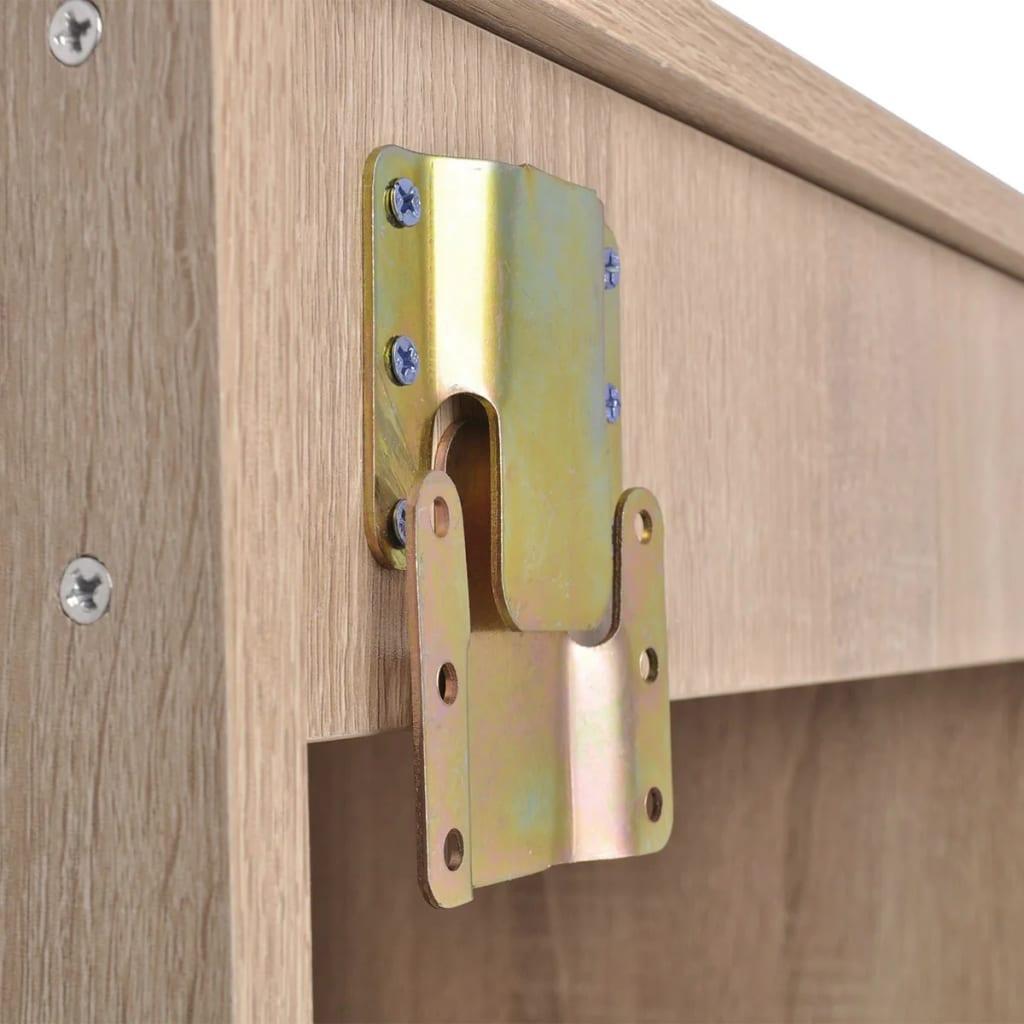 Acheter vidaxl 9 pi ces de mobilier de salle de bain et lavabo beige pas cher - Mobilier de salle de bain ...