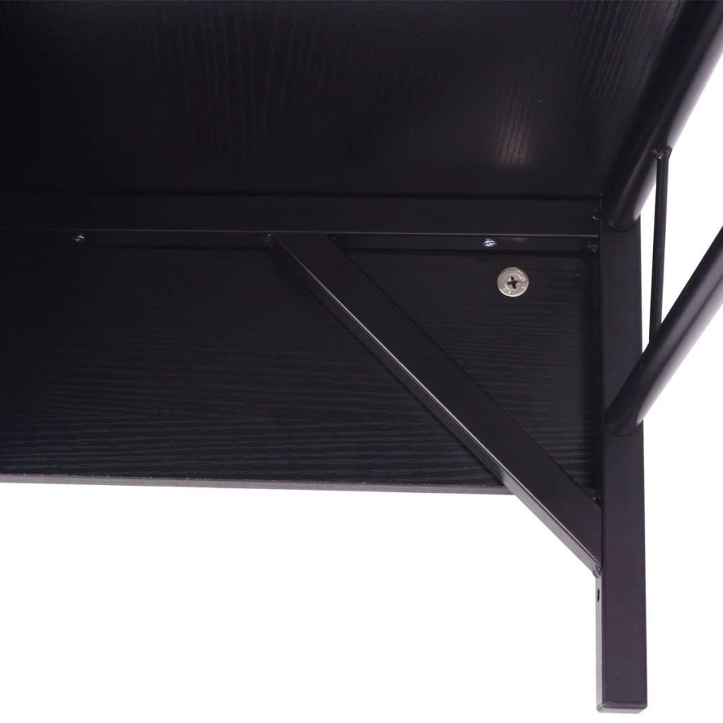 Articoli per vidaxl set 7 pz mobili da bagno e lavandino - Lavandino bagno nero ...