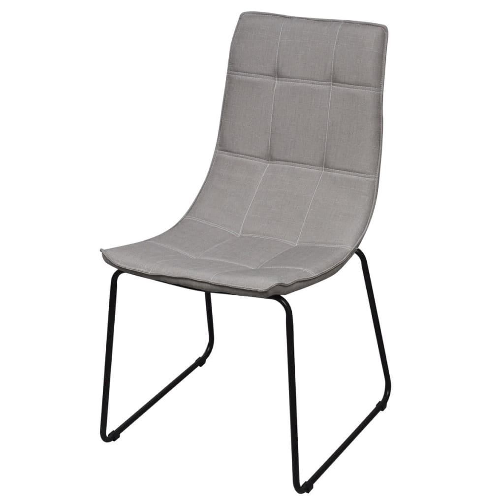 Acheter 6 chaises avec pieds en fer pour salle manger for Chaise de salle a manger gris clair