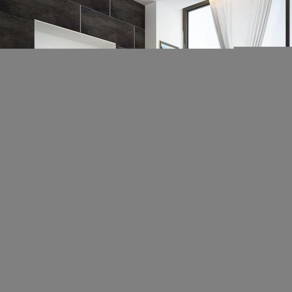 acheter lit de 140 cm en cuir synth tique avec led en t te de lit matelas pas cher. Black Bedroom Furniture Sets. Home Design Ideas