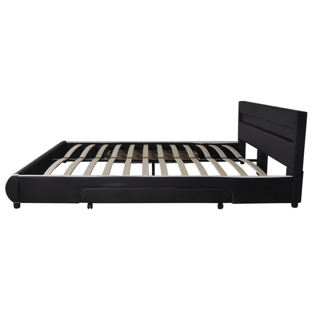 Cabecero de cama negro con led 180 cm colch n espuma - Cabecero cama 180 ...
