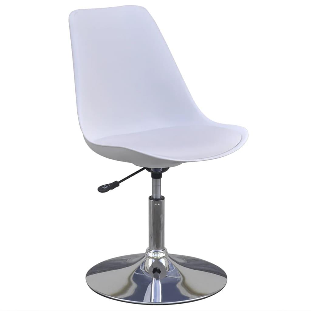 6 x esszimmerstuhl drehstuhl h henverstellbar wei g nstig kaufen - Esszimmerstuhl hohenverstellbar ...
