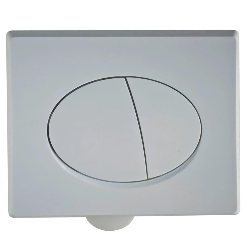 acheter cuvette wc suspendue en c ramique blanche avec r servoir cach pas cher. Black Bedroom Furniture Sets. Home Design Ideas