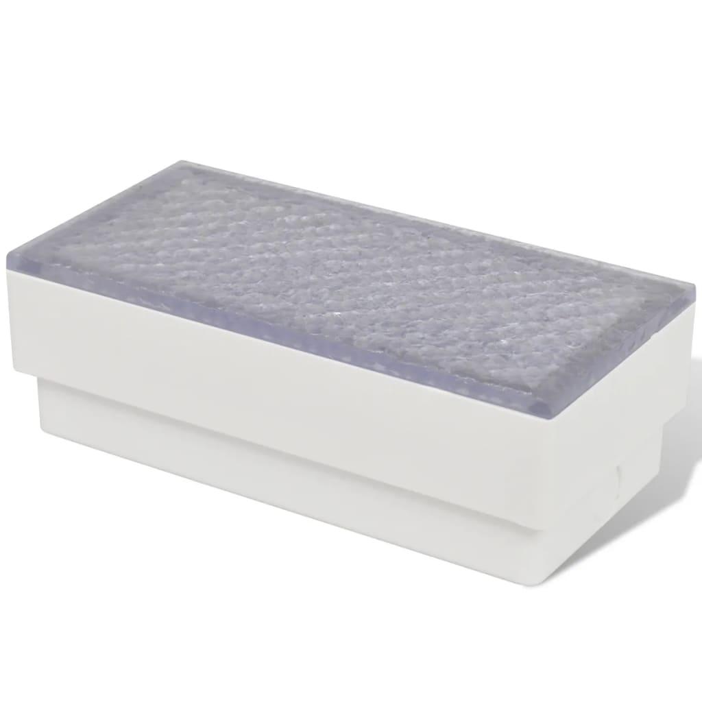 vidaXL-Set-6-pz-Luci-calpestabili-a-LED-faretti-interno-esterno-100-x-200-x-68mm