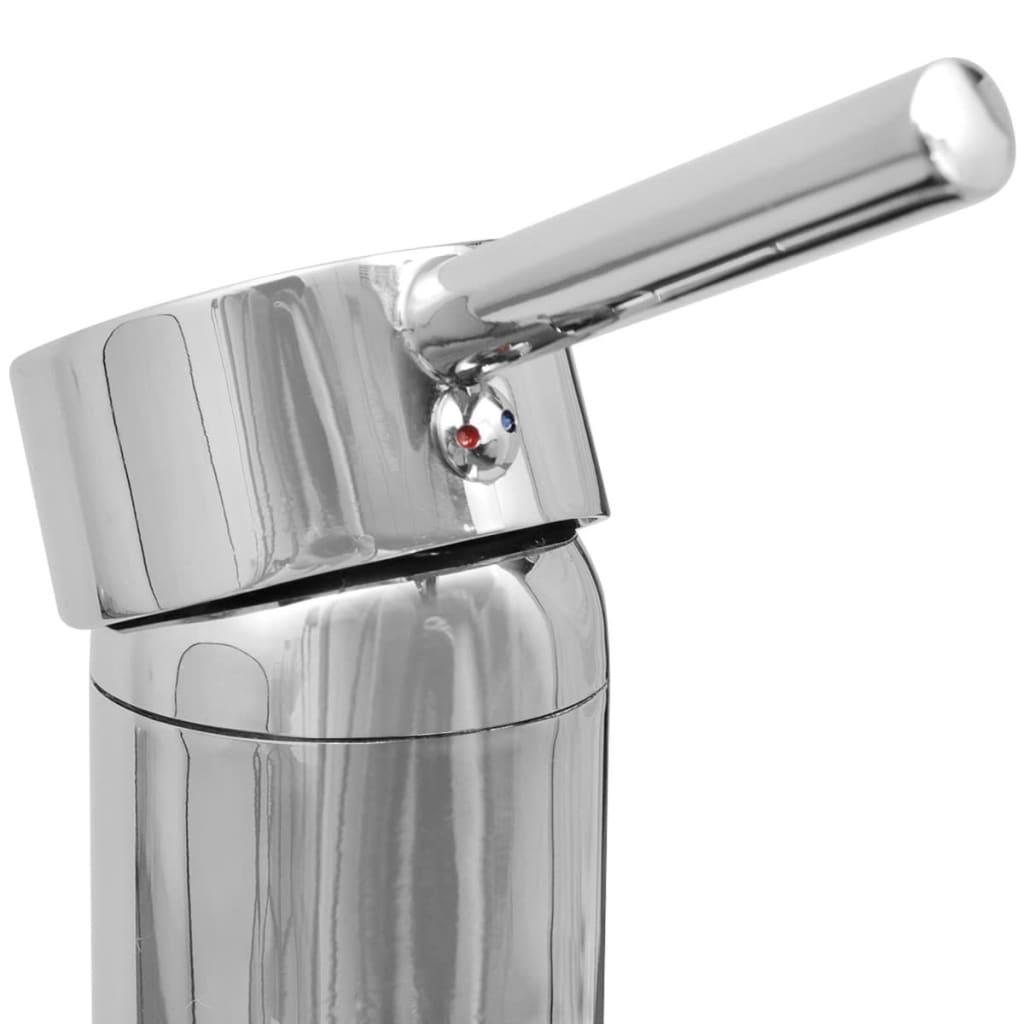 Acheter vidaxl dix pi ces pour salle de bains avec lavabo for Robinet pour lavabo salle de bain