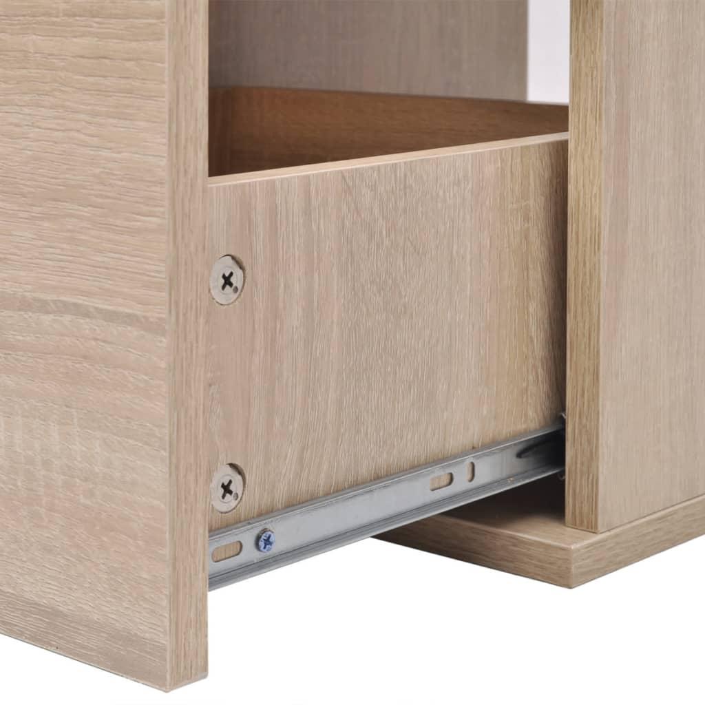 Vidaxl set de muebles de ba o con lavabo y grifo 9uds for Muebles beige