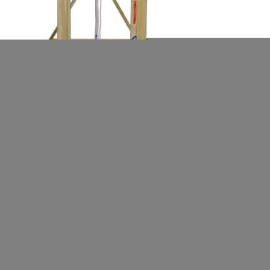 vidaXL Playhouse Set with Ladder, Slide and Swings 290x260x245 cm Wood[4/8]
