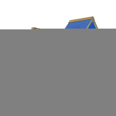 vidaXL Playhouse Set with Ladder, Slide and Swings 290x260x245 cm Wood[2/8]