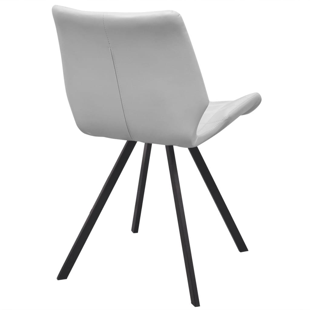 Acheter vidaxl chaises de salle manger en cuir for Salle a manger en solde