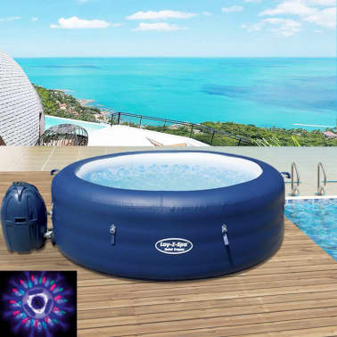 Articoli per bestway lay z spa jacuzzi gonfiabile 196x61 for Jacuzzi hinchable carrefour