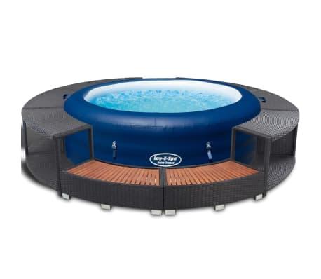 bestway lay z spa jacuzzi opblaasbare hot tub 196x61 cm 14294 online. Black Bedroom Furniture Sets. Home Design Ideas