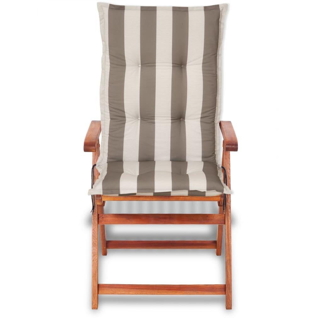Vidaxl cuscini con schienale per sedie da giardino 6 pezzi for Cuscini con schienale per sedie da giardino