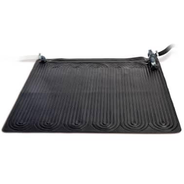 Acheter intex tapis chauffant solaire pvc 1 2 x 1 2 m 2 pcs noir pas cher - Tapis solaire intex ...