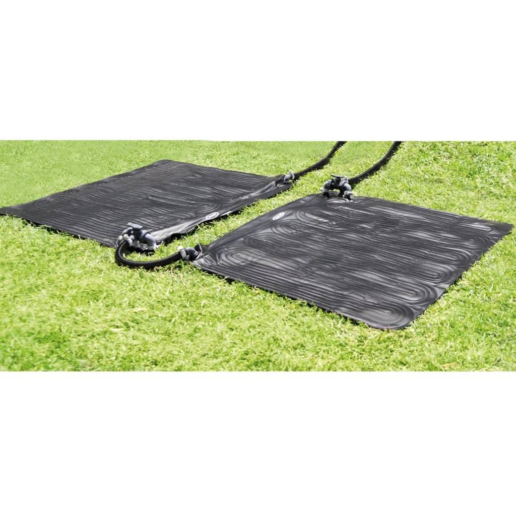 Intex 2 db 28685 napelem fűtött PVC szőnyeg 1,2 x m fekete