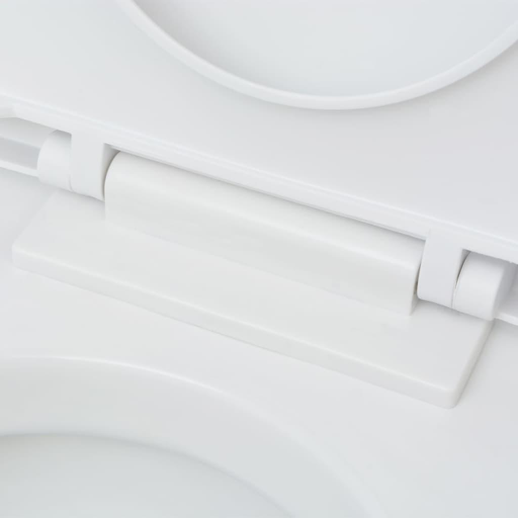 der vidaxl wandh ngende toilette mit sp lkasten keramik. Black Bedroom Furniture Sets. Home Design Ideas