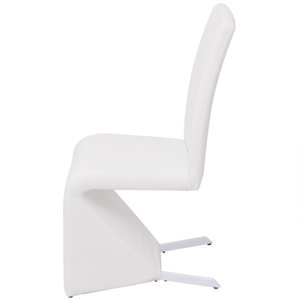 Acheter vidaxl chaises de salle manger cantilever 6 pcs for Acheter des chaises de salle a manger
