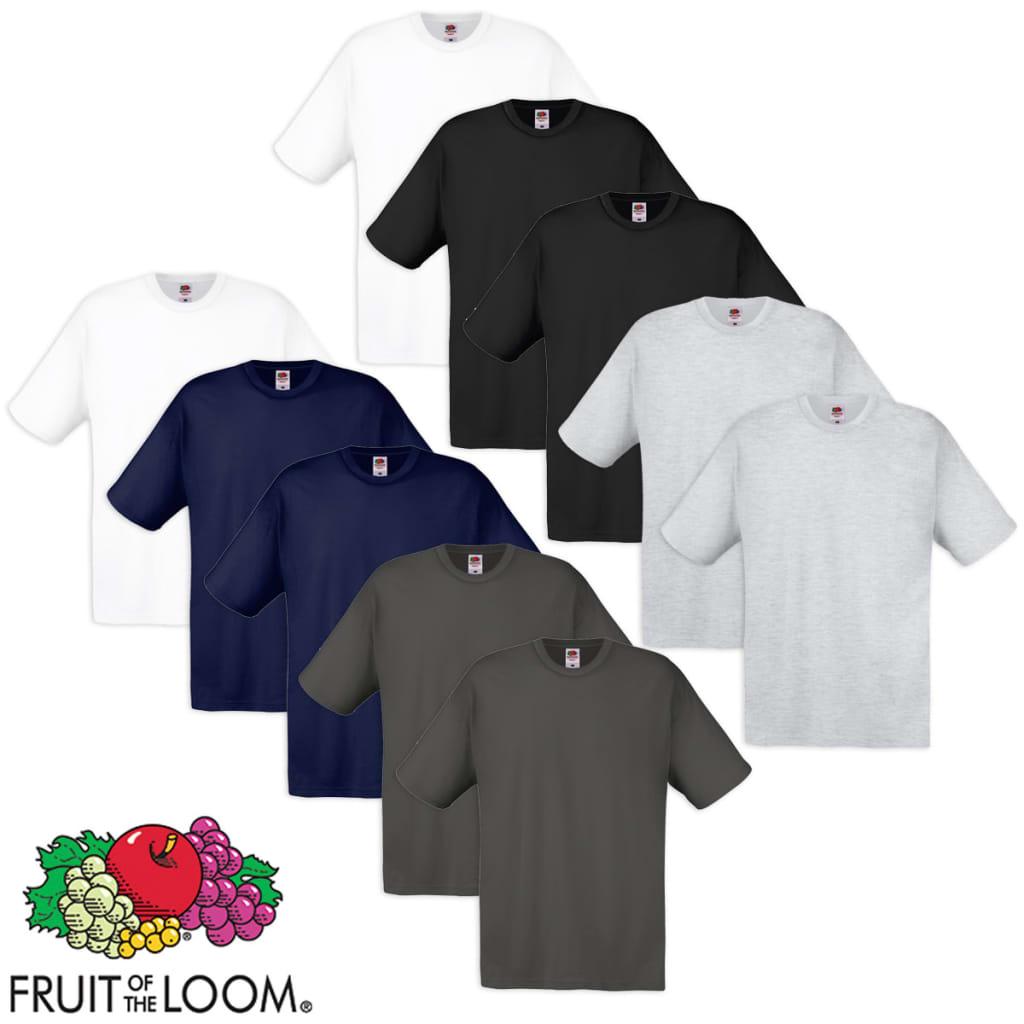 Fruit of the Loom 10 többszínű S méretű eredeti pamut poló