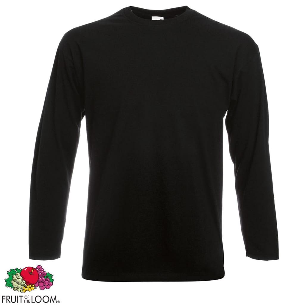 der fruit of the loom longsleeve valueweight t shirt 10. Black Bedroom Furniture Sets. Home Design Ideas