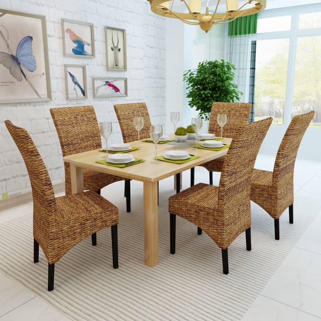 la boutique en ligne vidaxl chaises de salle manger 6. Black Bedroom Furniture Sets. Home Design Ideas