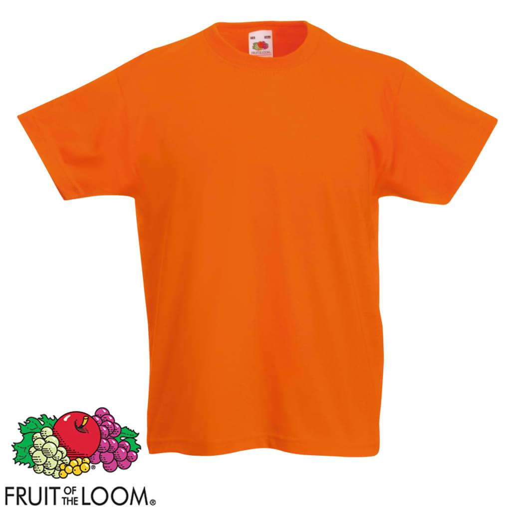 Conjunto-Camisetas-para-Ninos-5-Unidades-Multicolor-Talla-128-Fruit-of-the-Loom