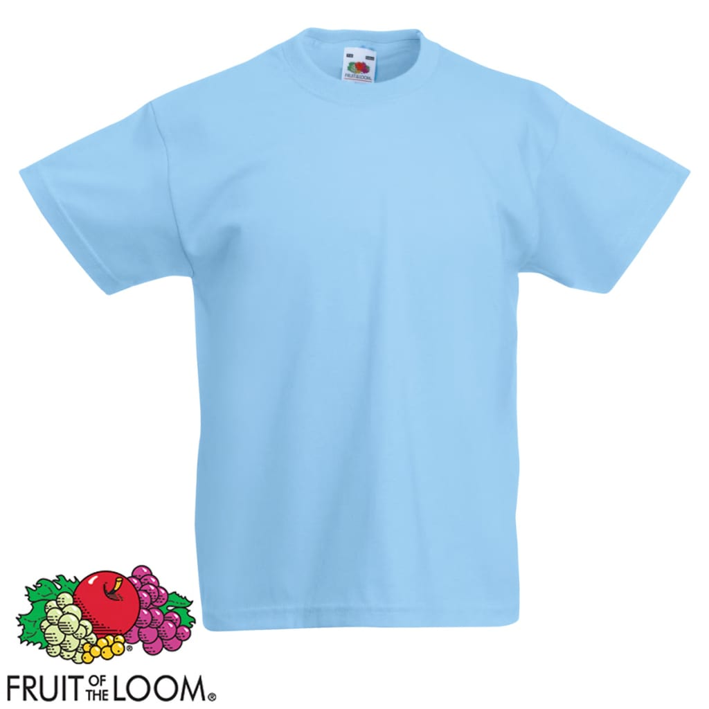 Conjunto-Camisetas-para-Ninos-5-Unidades-Multicolor-Talla-128-Fruit-of-the-Loom