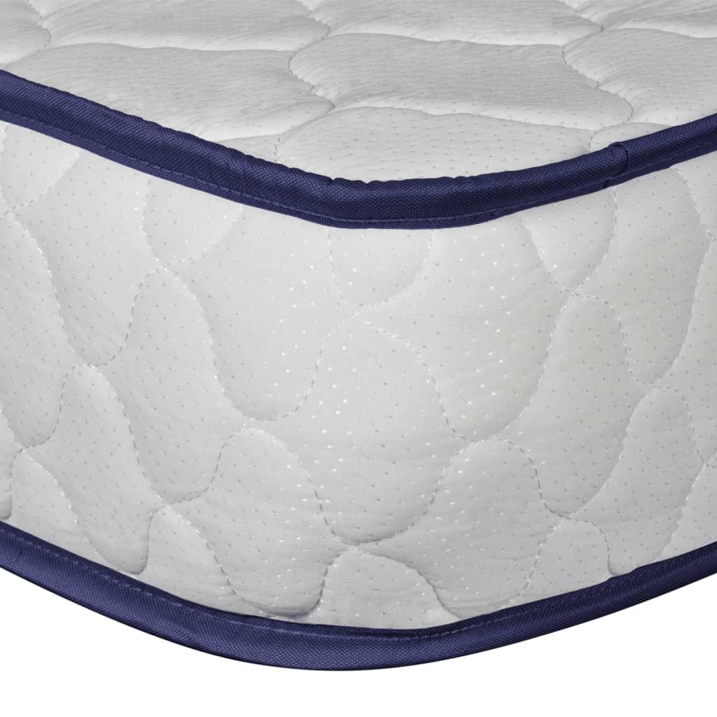 Acheter vidaxl lit simple et matelas en mousse 90 x 200 cm for Matelas lit simple costco