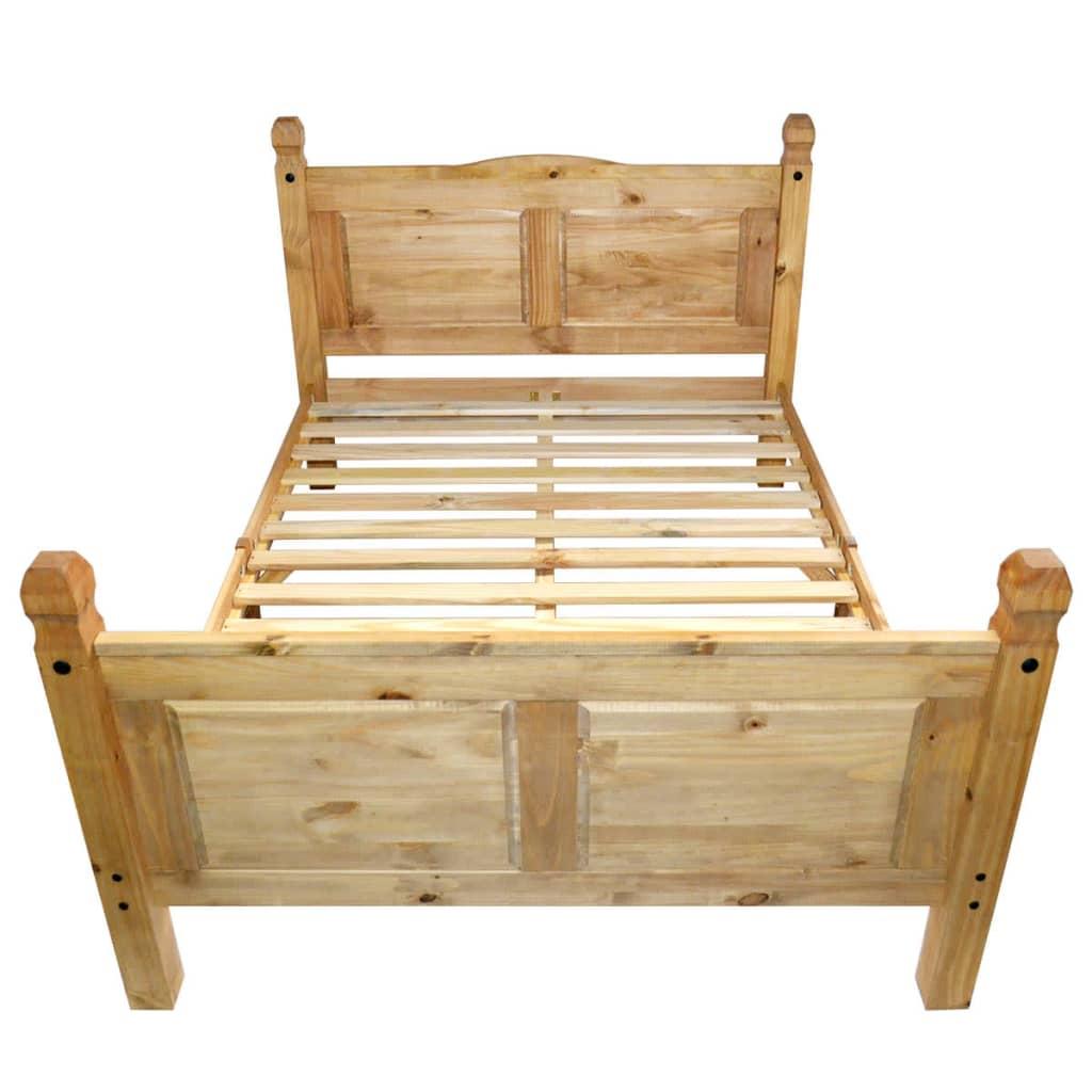 Beeindruckend Bett Größe Referenz Von 3 Von 12 Vidaxl Doppel Mit Matratze