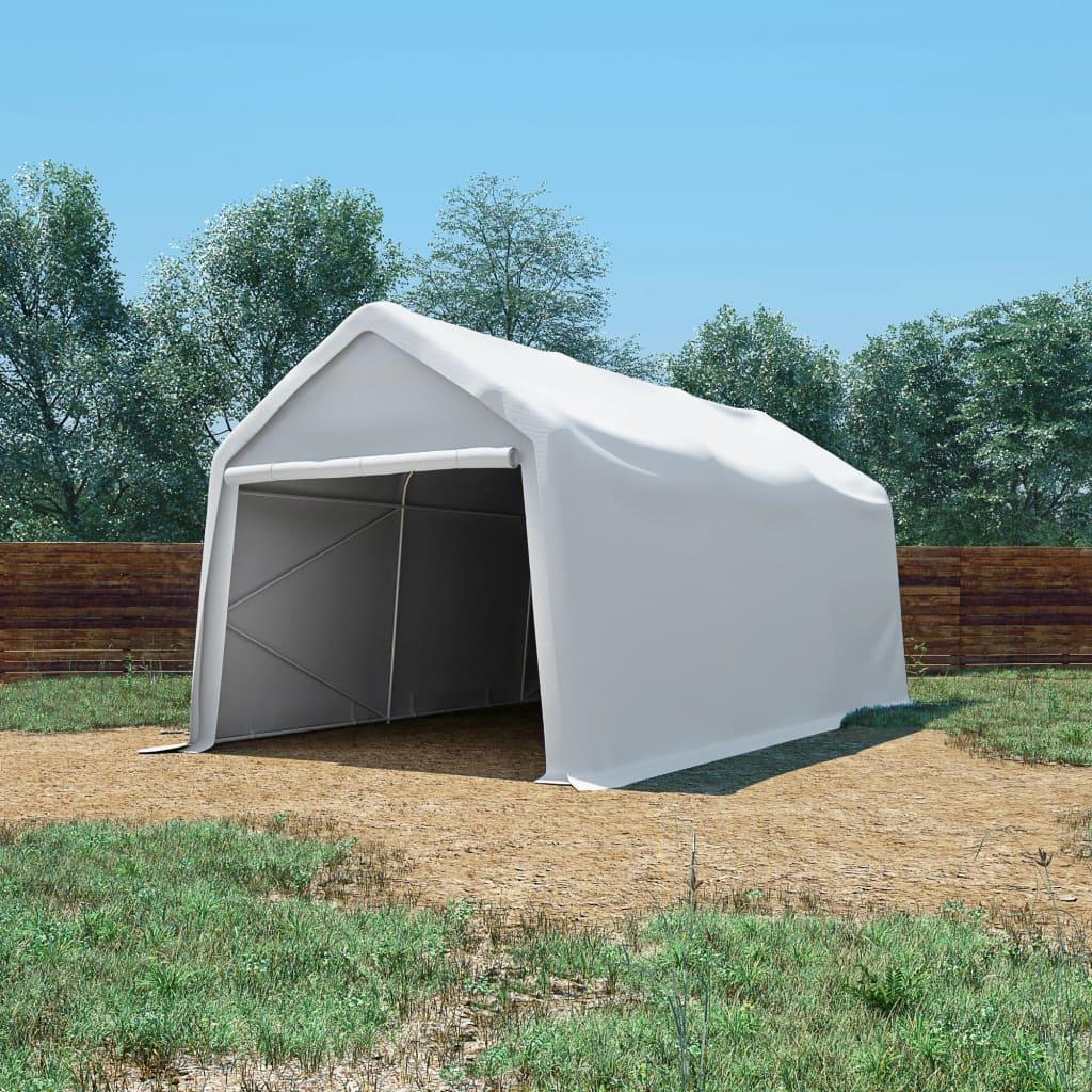 vidaXL fehér PVC tároló sátor 3 x 6 m
