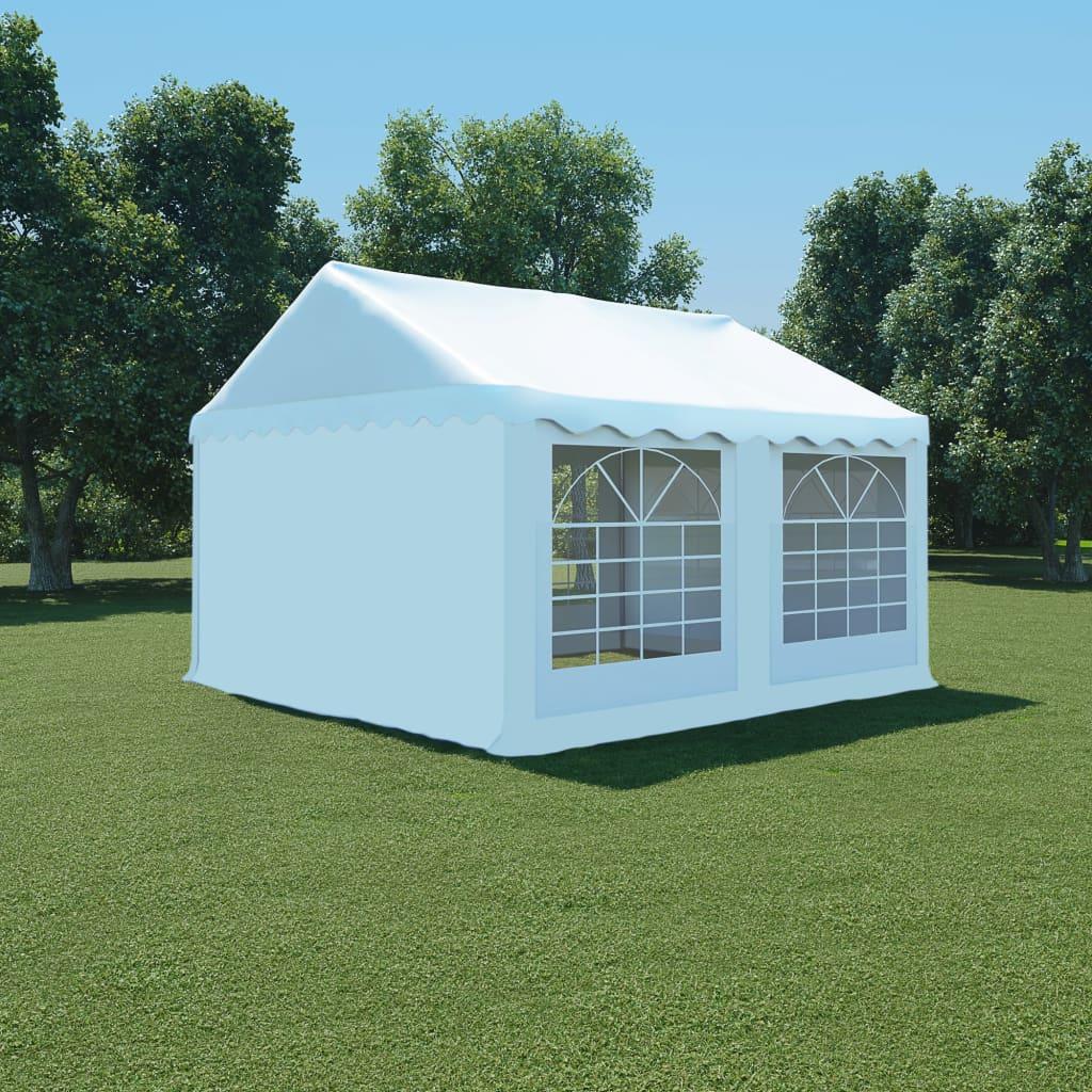 vidaXL fehér PVC kerti pavilon 4 x m