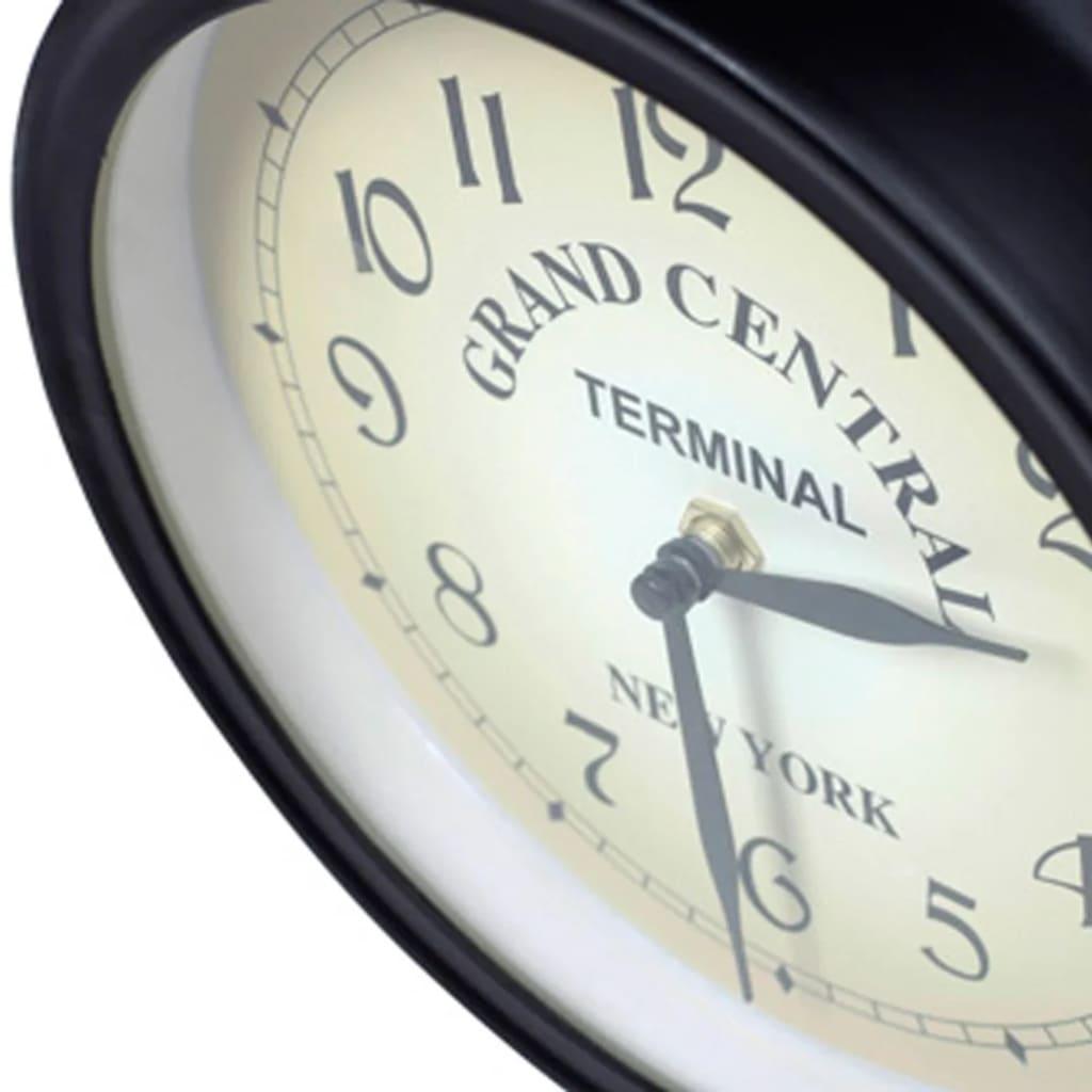 Acheter horloge de gare retro double face new york pas - Horloge gare double face ...