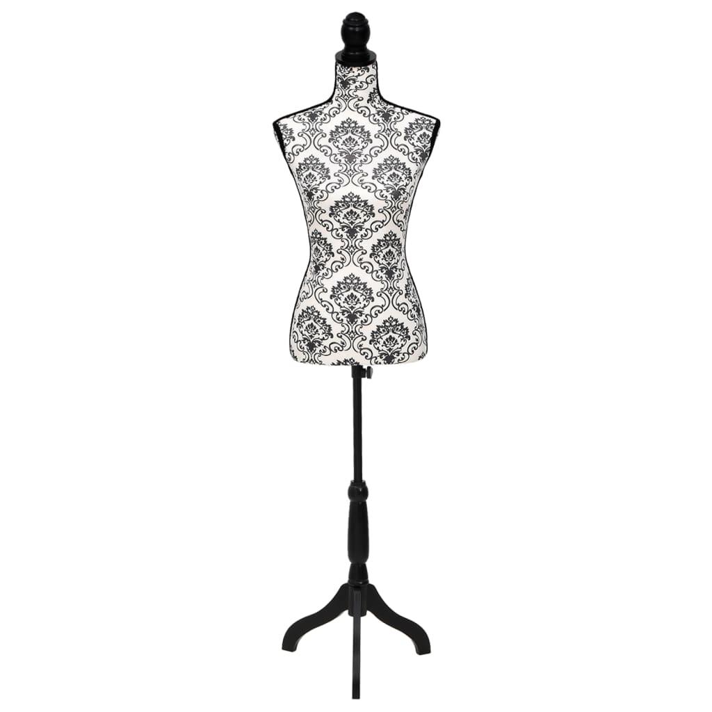 La boutique en ligne buste de couture mannequin femme noir blanc - Buste de couture ikea ...