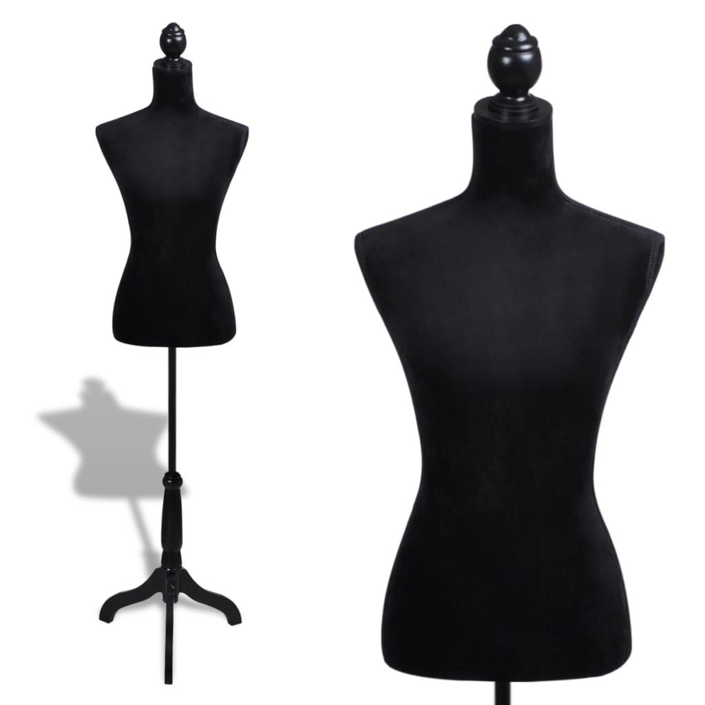 female mannequin tailor lady bust window display fashion model dressmaker ebay. Black Bedroom Furniture Sets. Home Design Ideas