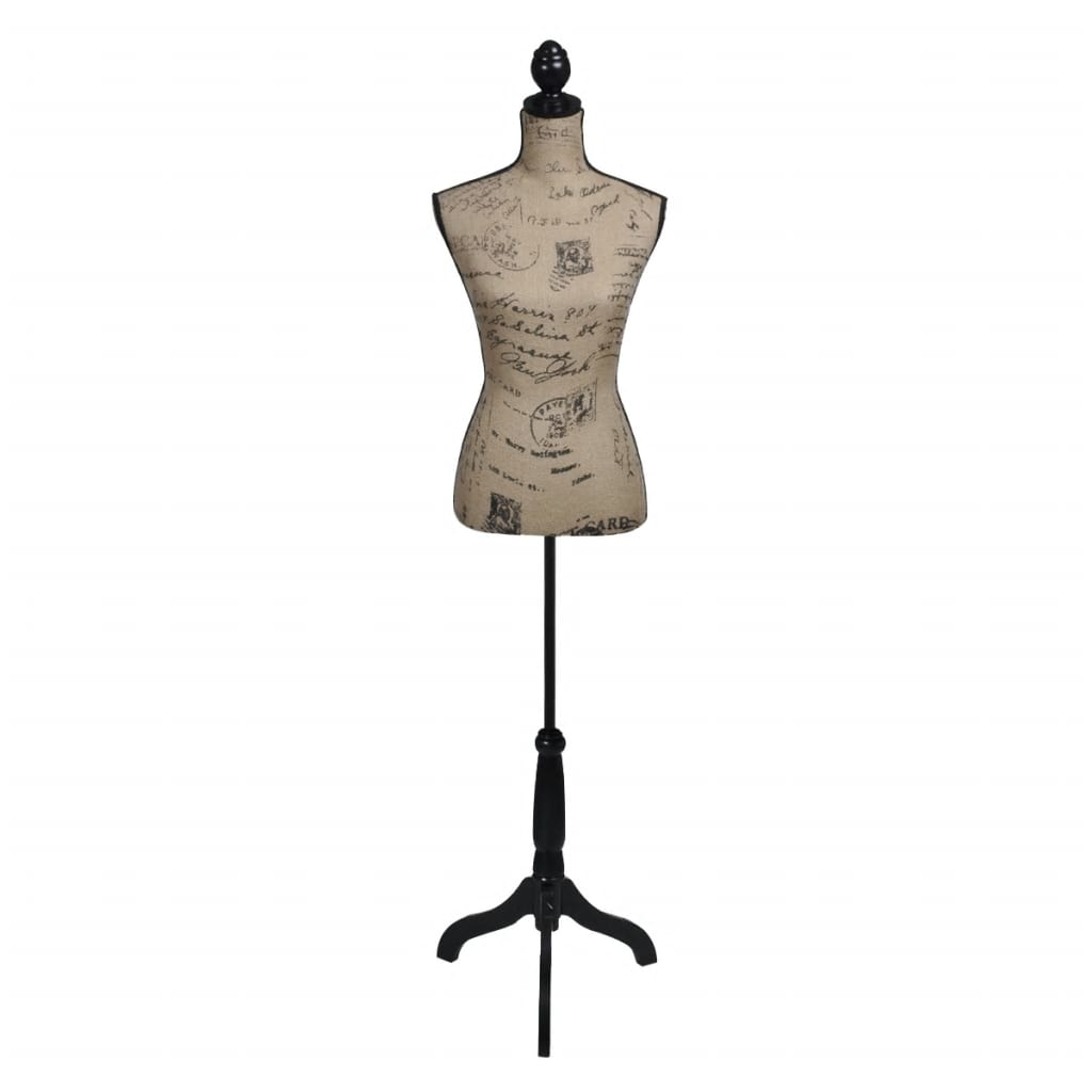 ladies bust display bust brown black jute female mannequin display. Black Bedroom Furniture Sets. Home Design Ideas