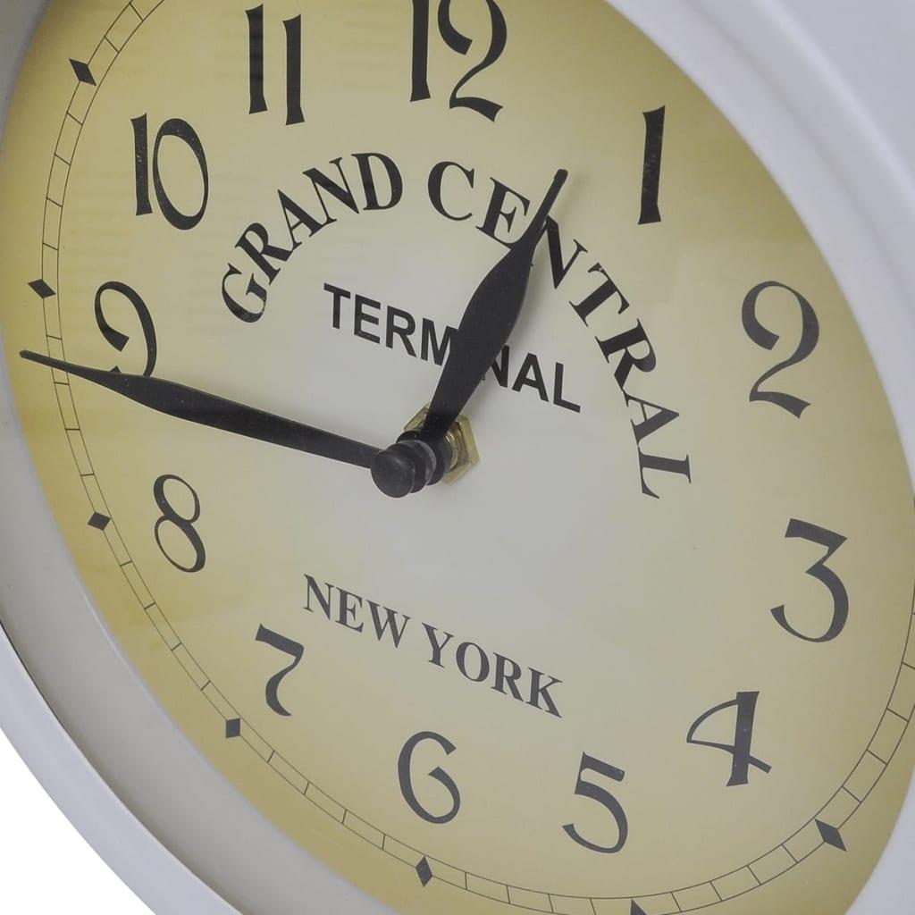 Reloj de pared de dos caras del dise o cl sico tienda - Reloj de pared de diseno ...