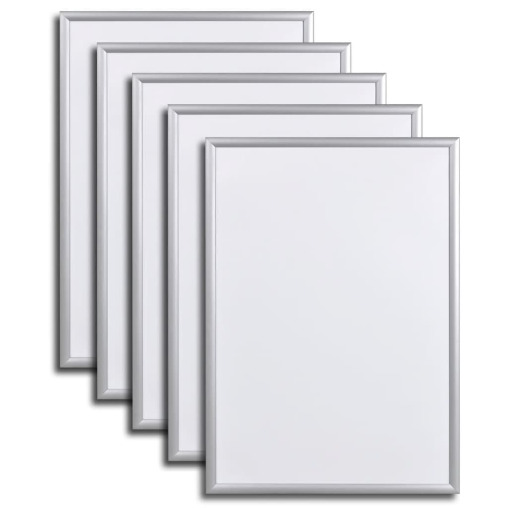 vidaxl-aluminum-snap-frame-poster-holder-a4-210-x-297-mm-5-pcs