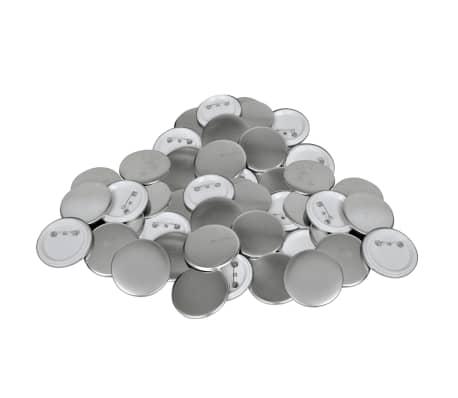 Buttonrohlinge 44 mm 500 Stück