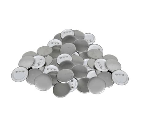 Buttonrohlinge 25 mm 500 Stück
