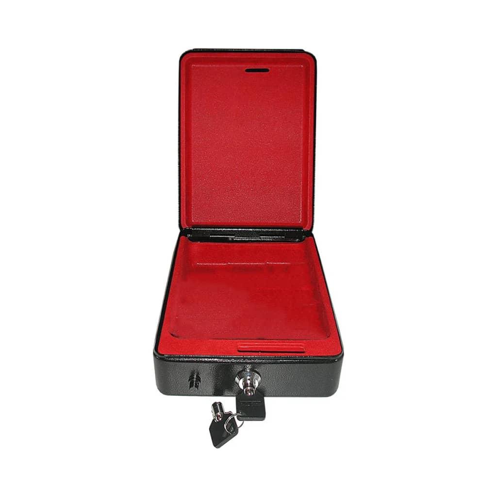 Afbeelding van ProPlus stalen kluis met houder 225x165x85mm
