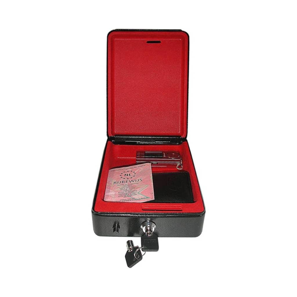 ProPlus Sicherheitskassette 225 x 165 x 85 mm mit Halterung