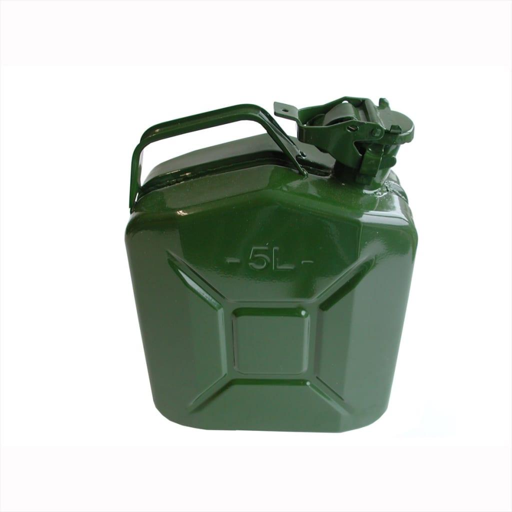 Afbeelding van ProPlus metalen jerrycan 5L groen